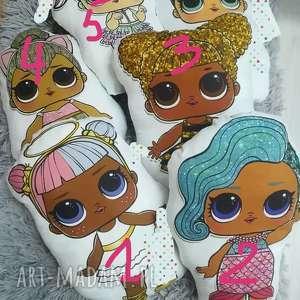 święta, poduszki lalki lol, poduszka, dziewczynka, prezent