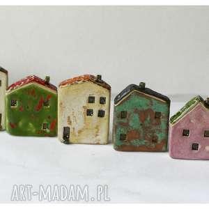 ręcznie zrobione ceramika mix domków ceramicznych ii - 7 szt