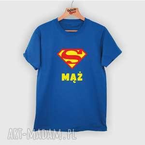 koszulka z nadrukiem dla męża, super mąż, prezent od żony, mężczyzny