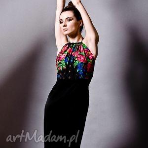 hand-made sukienki sukienka folk na zamówienie