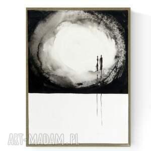 nowoczesna abstrakcja na płótnie 30x40 cm, 2995709, obraz ręcznie malowany