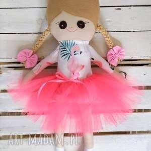 lalki szmaciana lalka flamingi, szmacianka, szmaciana, szyta