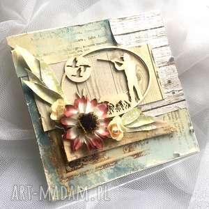 Prezent Kartka dla myśliwego , prezent, on, myśliwska, kartka