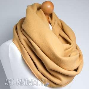 handmade szaliki miodowy komin tuba szalik dresowy, zimowy szal