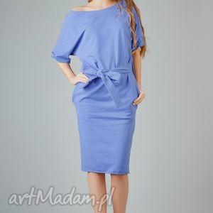 Sukienka Aleksandra 4, elegancka, wygodna, swobodna, midi, kimono, luźna