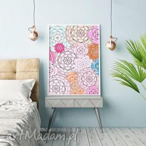 Kwiaty A3, kwiaty, kwiat, kwiatek, obraz, plakat