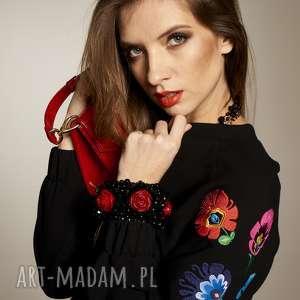 BOMBERKA MONIKA 8137, bluza-haftowana, bluza-nasuwak, bluza-bomberka, bluza-elegancka