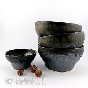 wyjątkowy prezent, zestaw misek ceramicznych, miska, dekoracje, patera