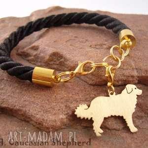 Bransoletka owczarek kaukaski pies nr.79, bransoletka, pies, rasy-psów, rękodzieło