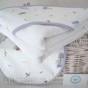 dla dziecka ręcznik niemowlęcy z kapturem myjka, ręcznik, recznik, kąpiel