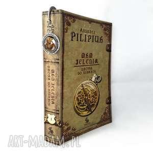 Zakładka do książki Steampunkowa sowa - ,zakładka,książki,sowa,steampunk,prezent,