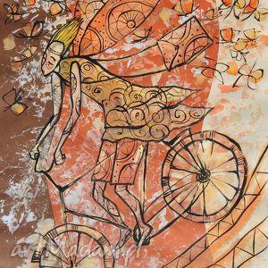 anioł dobrych wiadomośi, anioł, wiadomości, rower, 4mara