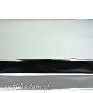 Kopertówka Koperta MANZANA black wka, koperta, manzana, bialo, czarna