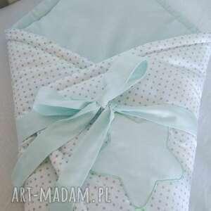 hand-made pokoik dziecka rożek niemowlęcy słodkie sny jasna mięta