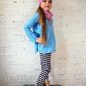 bluzeczka moon błękitna, bluzka, dziewczynka, prezent, zima, przedszkole, szkoła