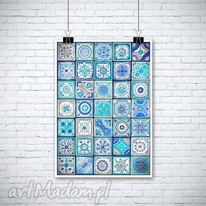 Mozaika A3, plakat, mozaika