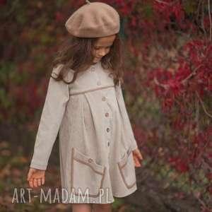 Sukienka Casual Style, sukienka, retro, dziewczynka, sztruks, vintage, bawełna