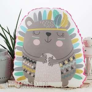 betty boo poduszka przytulanka, indiański jeżyk, bawełna, różowe minky