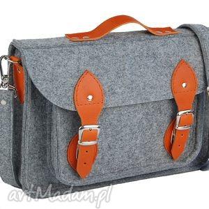 torebki 13 inch laptop macbook pro retina, air - torba, filc, felt, leather