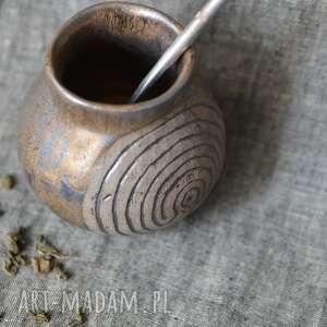 Matero z siedmiokrotnym labiryntem ceramika ziemia zu matero
