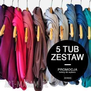 promocyjny zestaw 5 tub wybierz kolory - zestaw, promocja