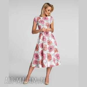 sukienka klara total midi rozetka, na wiosen