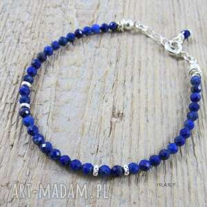 handmade lapis lazuli - delikatnie