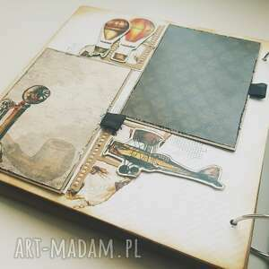 iride handmade album vintage w męskim stylu, album, scrapbooking