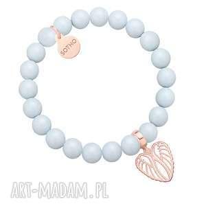 bransoletka z pereł swarovski® crystal ze skrzydełkami