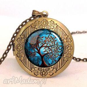 drzewo życia - sekretnik z łańcuszkiem - drzewo, życia, sekretnik