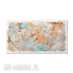 Tierra Osh, abstrakcja, nowoczesny obraz ręcznie malowany,