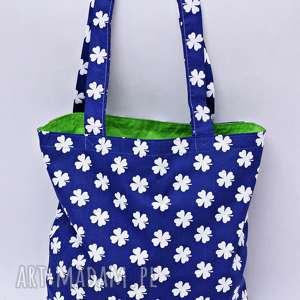 Torba na zakupy shopperka czterolistna koniczynka, torba, torba-na-zakupy,