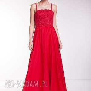 ręcznie wykonane sukienki suknia candelaria