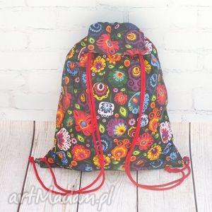 eb0c10c88be92 ... Łowicki plecak 02, plecak, worek, łowicz, łowicki, ludowy, folkowy