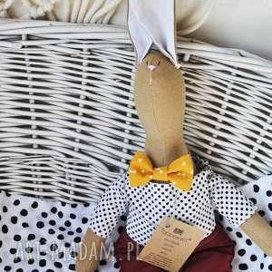 Pan królik z imieniem maskotki peppofactory prezent, dzień