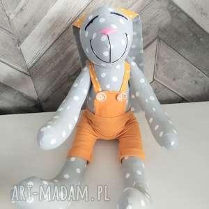 Królik prezent chrzest personalizacja imię dedykacja zabawki