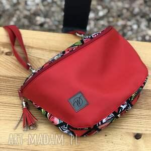 nerki torebko/nerka maya czerwień i arbuzy, torebka, nerka, torebko nerka