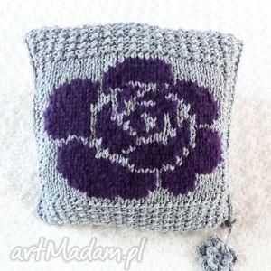 poduszki poduszka robiona ręcznie wełna 40x40 cm 1szt, poduszki, poduszka, poszewka