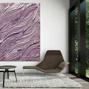 liliowa fantazja - obraz na płótnie
