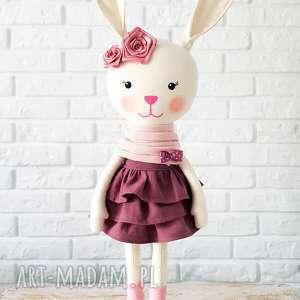 króliczka marcelinka, króliczka, maskotka, przytulanka, zabawka, prezent