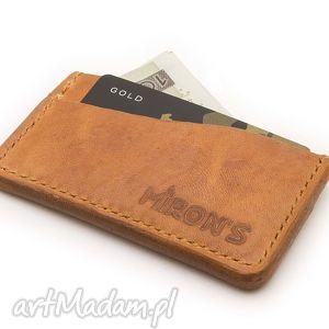 święta prezent, card holder, portfel, karty, skórzany, skóra, minimalistyczny