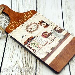 shiraja deska ozdobna- chocolat, deska, kuchenna, czekolada, do, kuchni, oryginalny