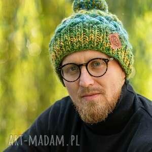 handmade czapki happy jesienne łąki