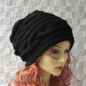 czapki czapka oversized - pojedynczy egzemplarz , czapka, kobieta, duża