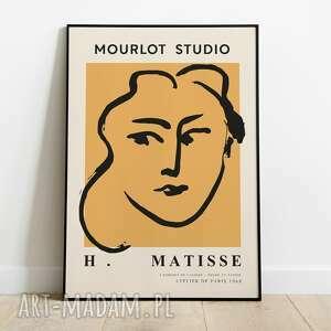 Henri matisse, inspiracja, plakat wystawowy 50x70 plakaty pas de