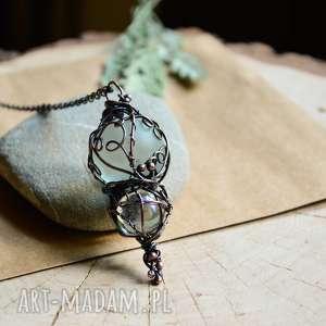 pracownia miedzi amulet - naszyjnik z wisiorem w stylu hippie/boho