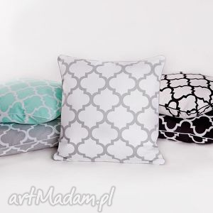 poszewka na poduszkę koniczyna marokańska 5 kolorów, poszewka, poduszka, trellis