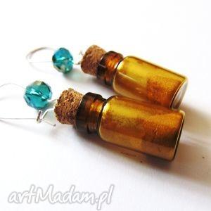 handmade kolczyki kolczyki mini buteleczki
