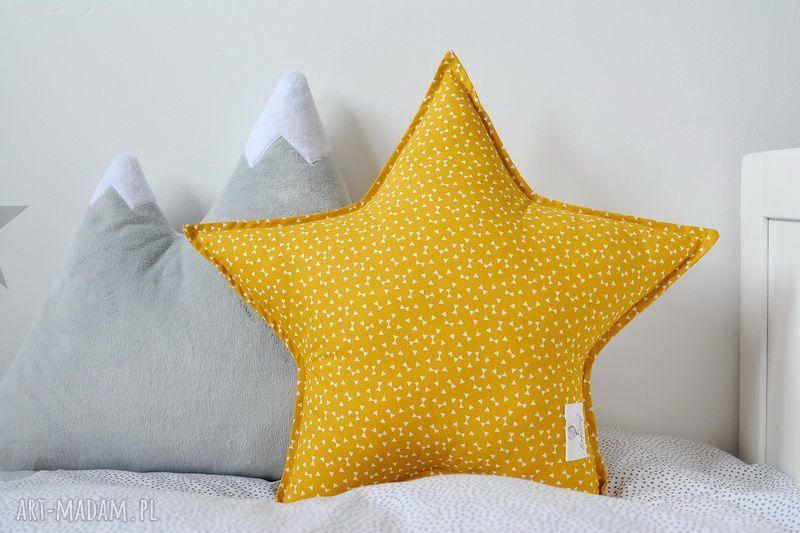 hand-made pokoik dziecka poduszka gwiazdka miodowa