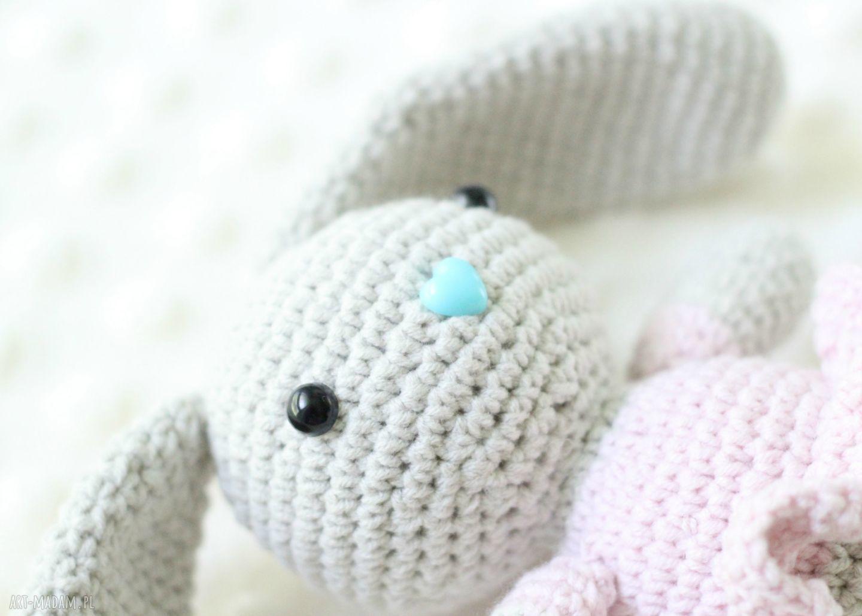 hand made zabawki królik króliczek zosia